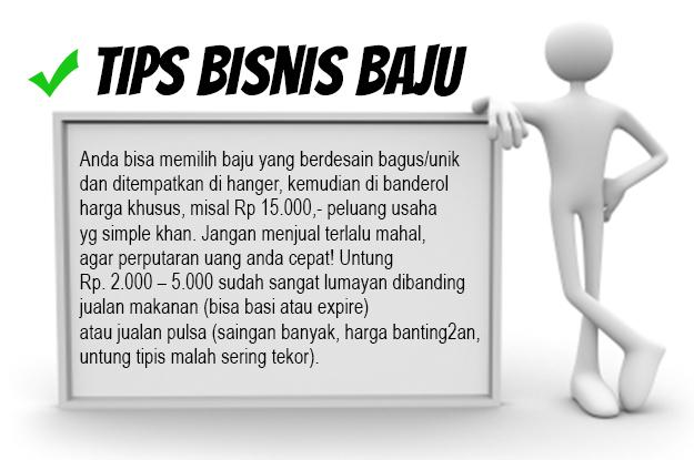 Tips Bisnis Baju Murah