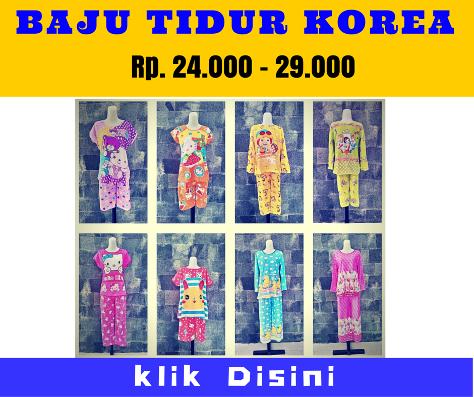 Grosir Baju Tidur Korea Murah