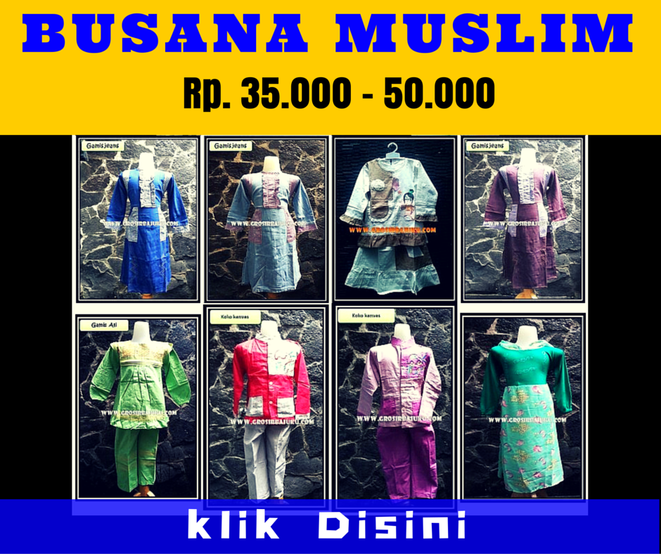Grosir Busana Muslim Murah
