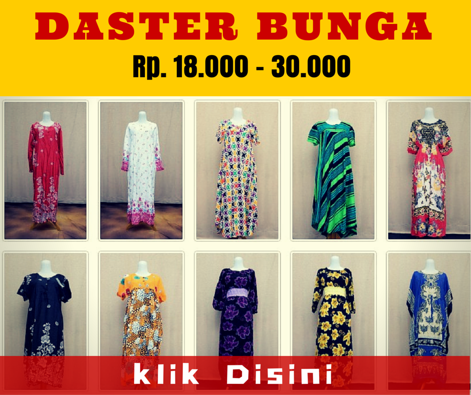 Grosir Daster Katun Murah