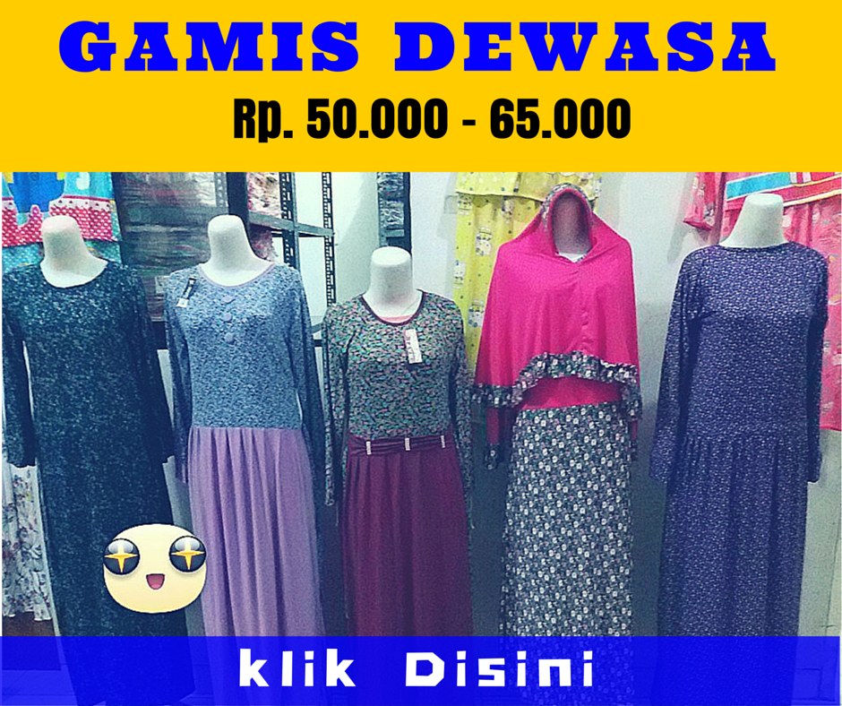 Grosir Gamis Dewasa Murah