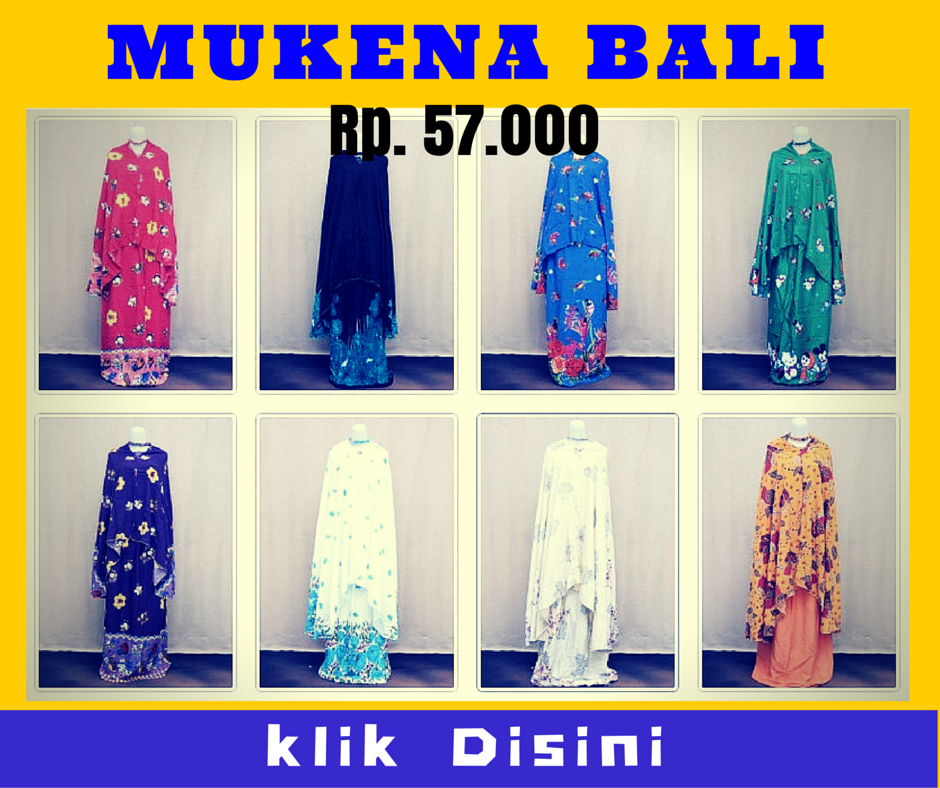 Grosir Mukena Bali Murah