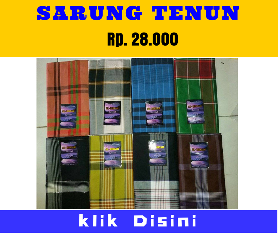 Grosir Sarung Tenun Murah