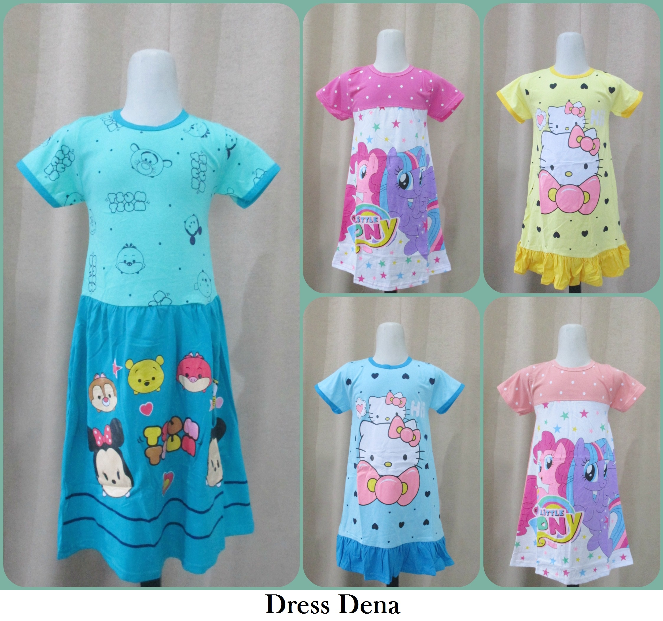 Grosiran Dress Dena Anak Murah Tanah Abang