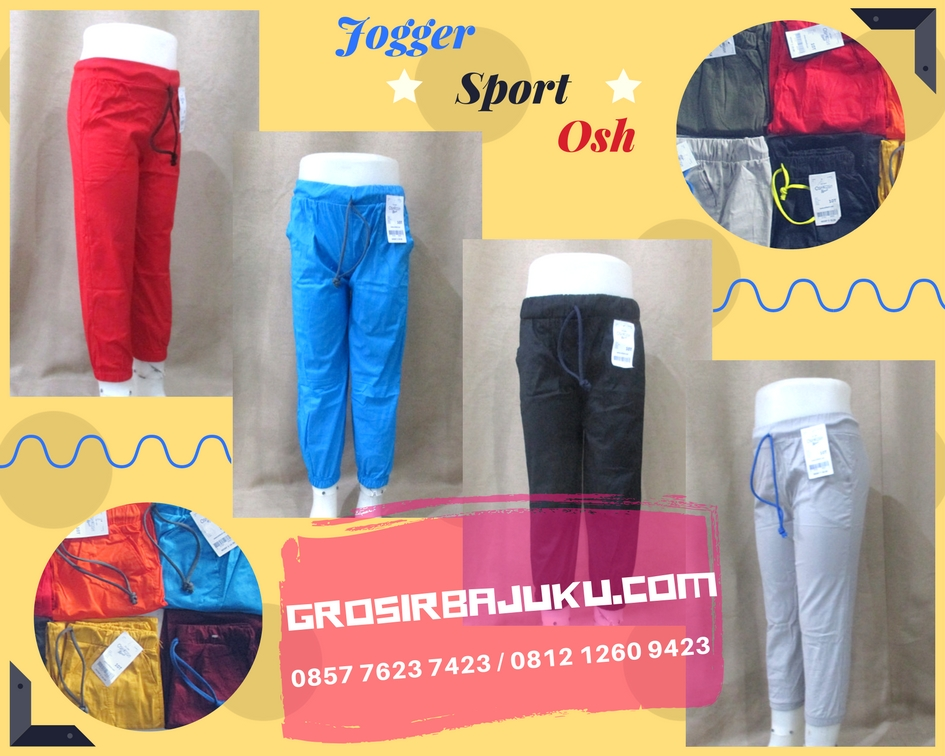 Sentra Grosir Jogger Sport OSH Anak Murah