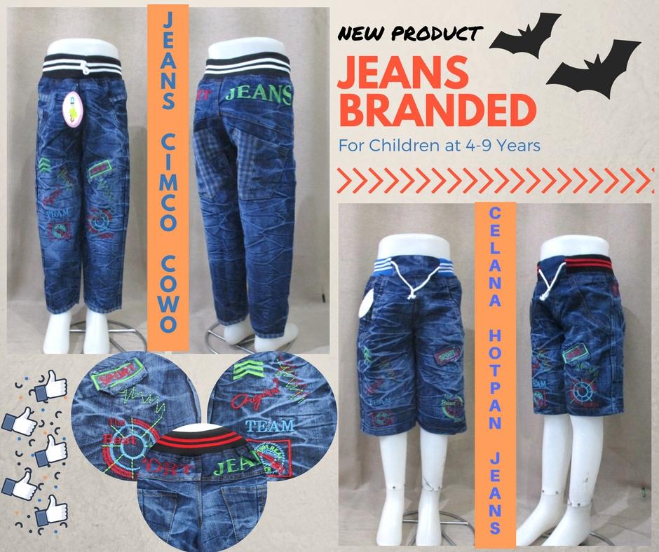 Grosir Celana Jeans Branded Anak Laki Laki Murah Tanah Abang
