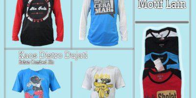 Pusat Grosir Kaos Distro Branded Pria Dewasa Murah