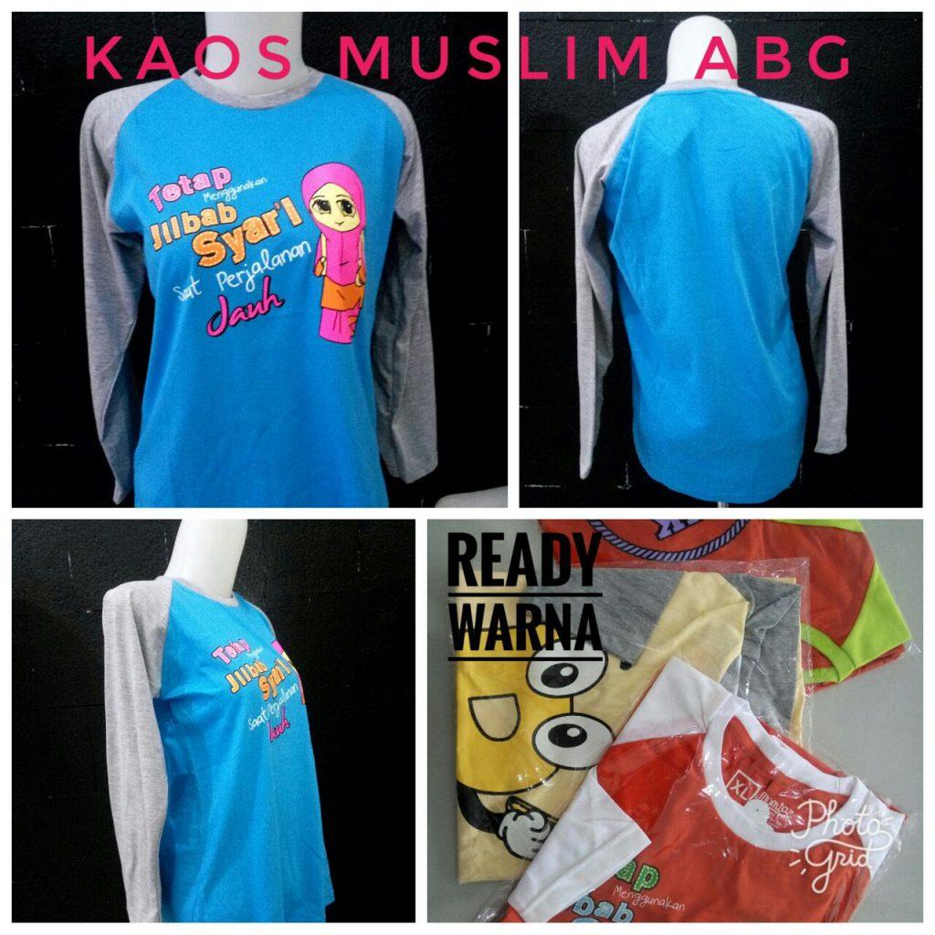 Grosir Kaos Muslim ABG Murah Surabaya 24ribuan