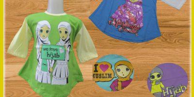 Sentra Grosir Tunic Muslim Anak Murah 18ribuan