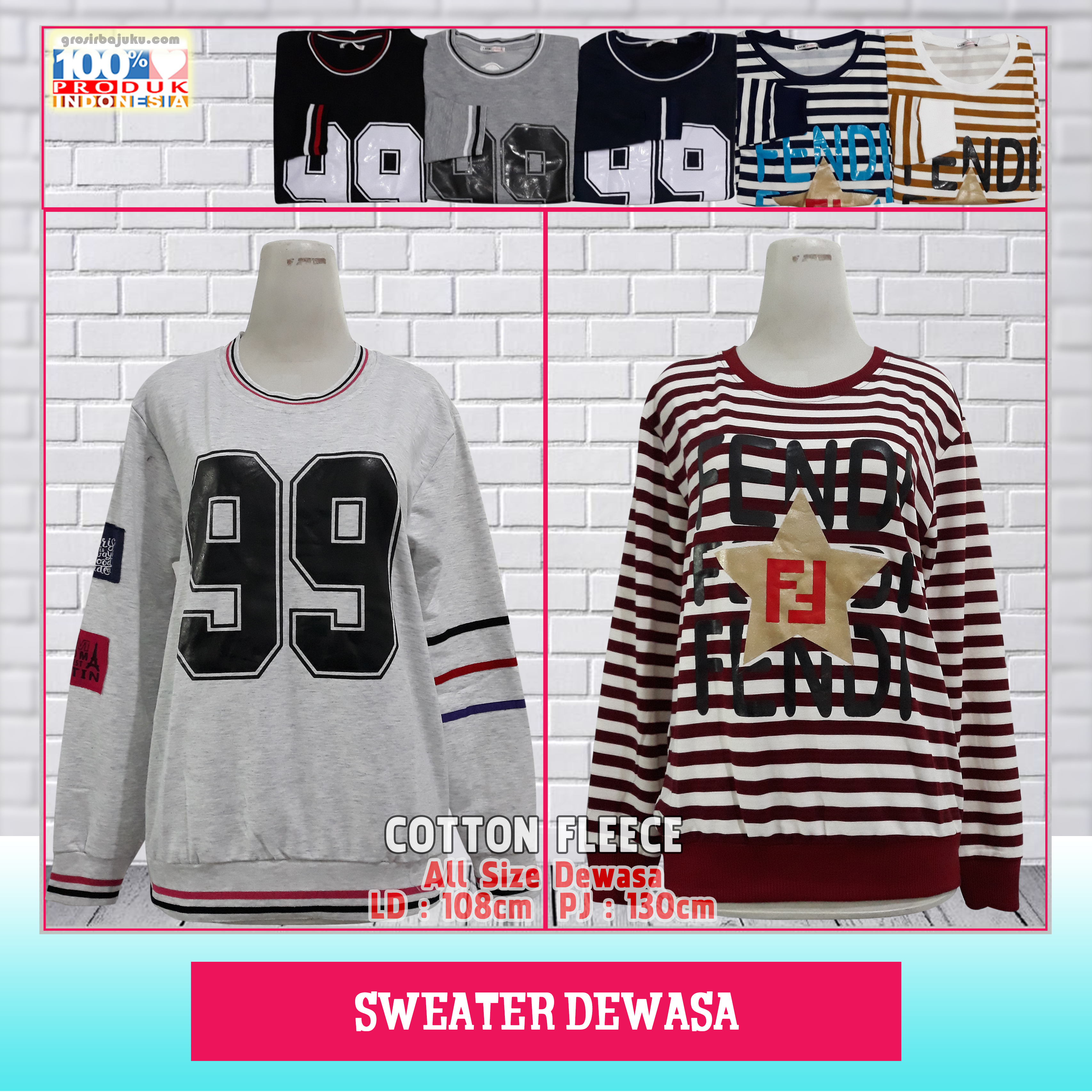 Sweater Dewasa
