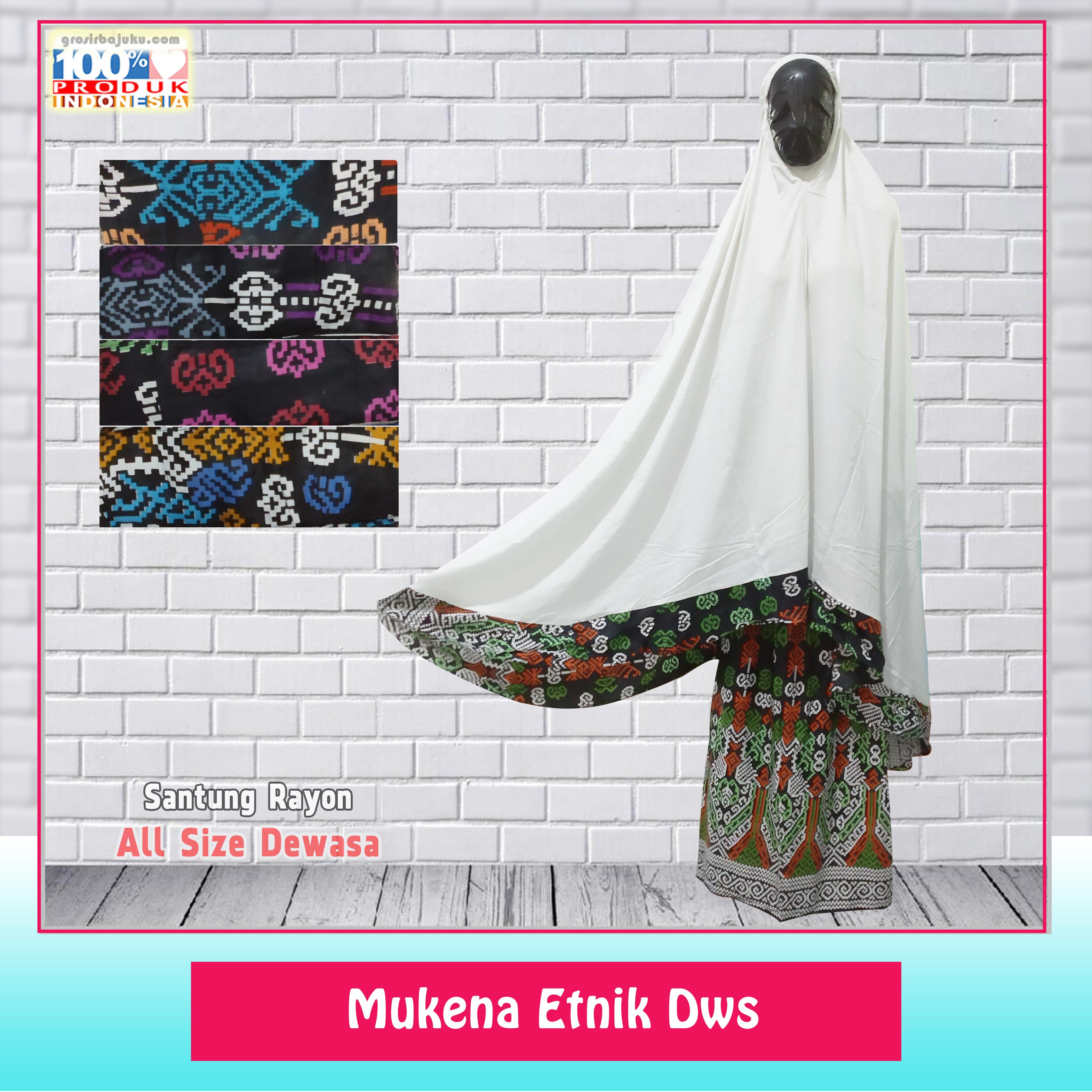 Mukena Etnik Dewasa