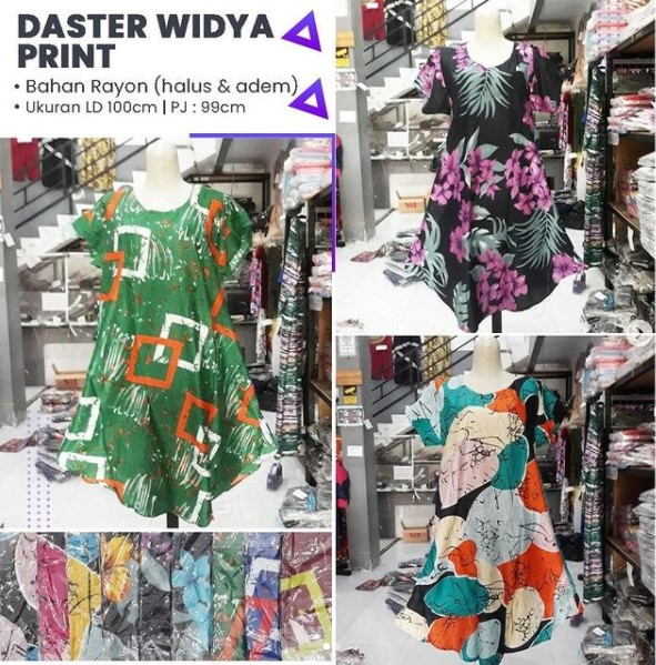 Daster Widya Print