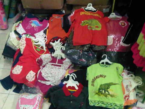 Pusat Grosir Baju Anak Branded