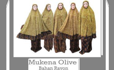 Grosir Mukena Olive Dewasa Murah 90ribuan