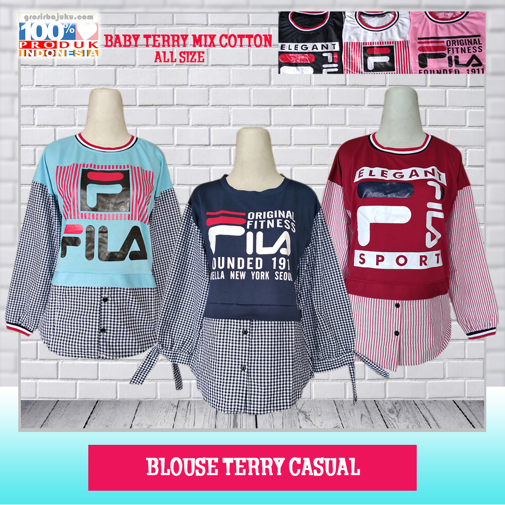 Blouse Terry Casual