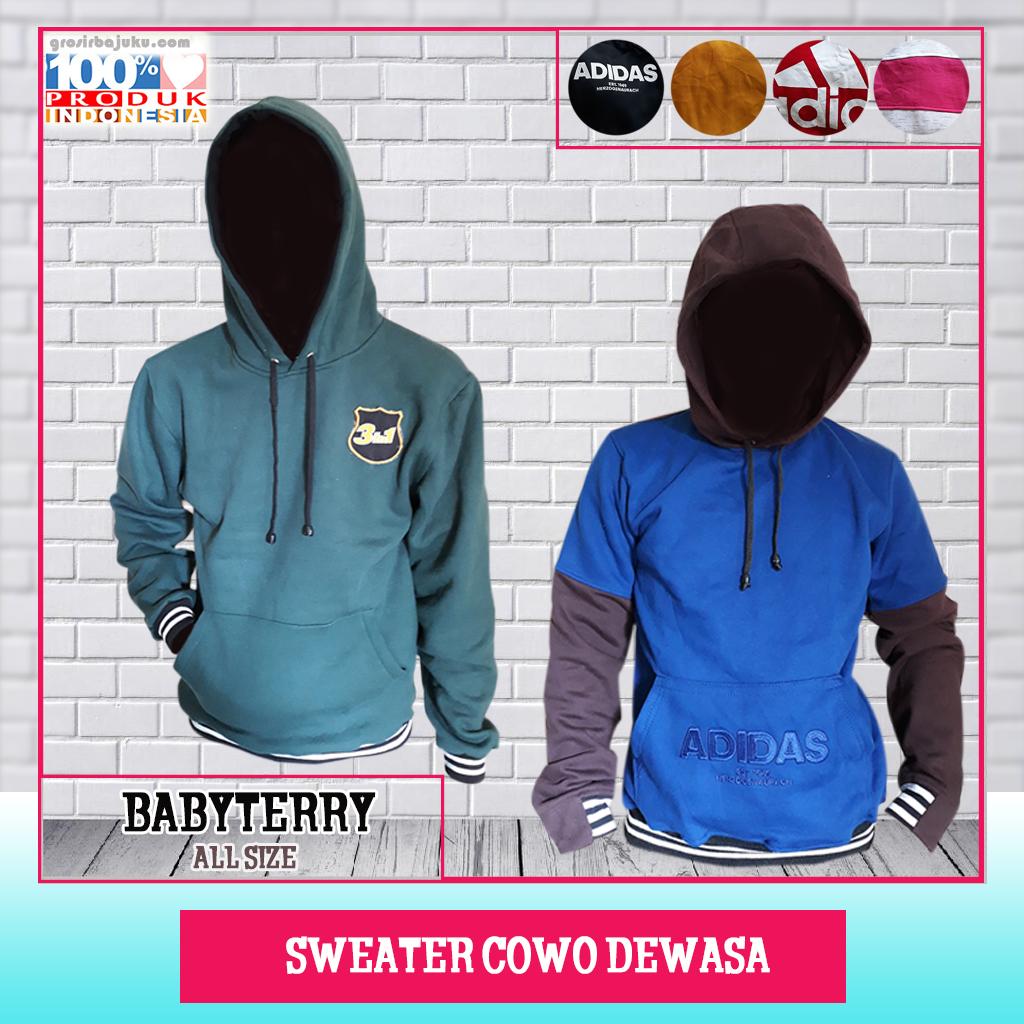Sweater Cowo Dewasa
