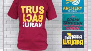 Kaos Muslim Dewasa