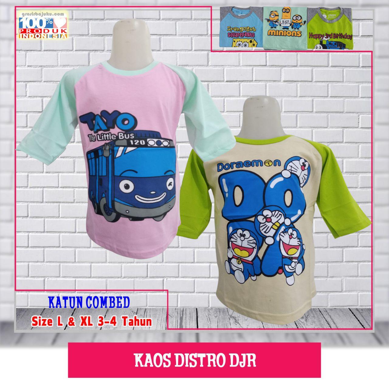 Pusat Kaos Distro DJR Murah - Dewa Grosir